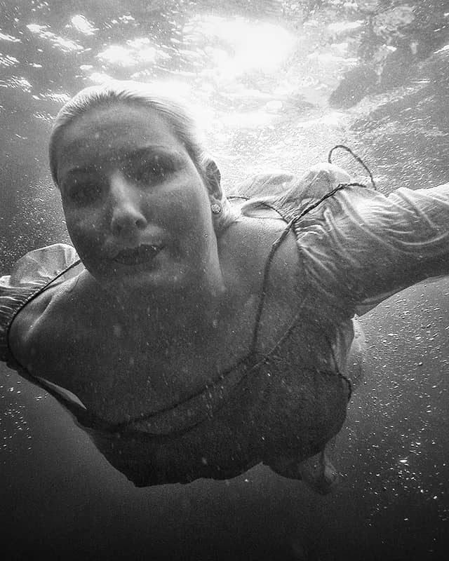 Underwater with Jenny